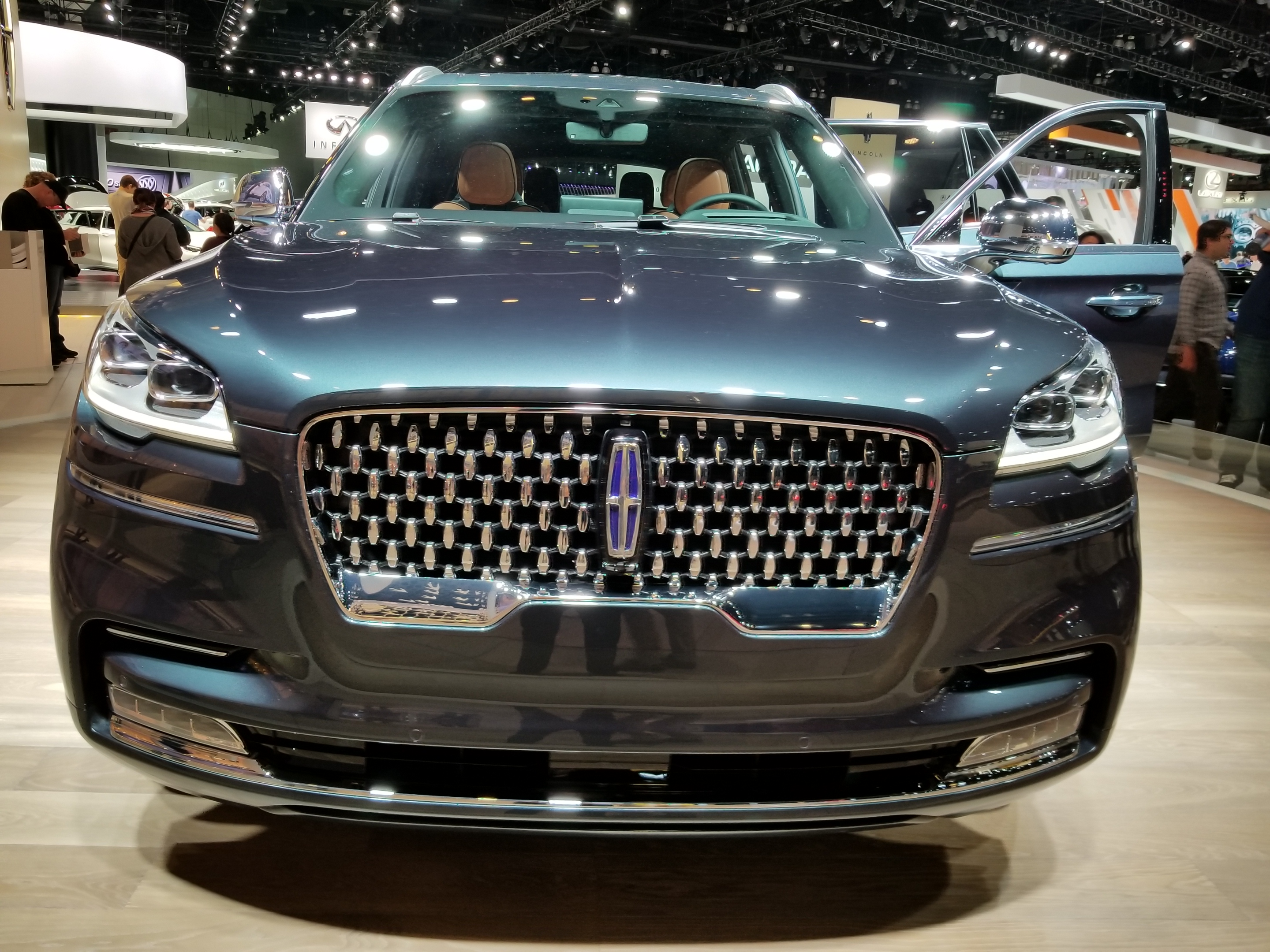 New 2020 Aviator Stars at Lincoln Brand Day at the L A  Auto